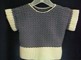 CrochetKim Free Crochet Pattern | Child's Lilac Frost Sweater @crochetkim