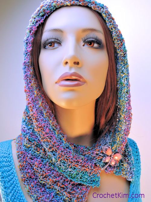 CrochetKim Free Crochet Pattern | Noema Cowl @crochetkim