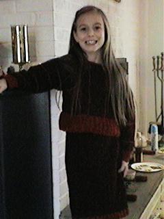 CrochetKim Free Crochet Pattern | Chenille Stripes Sweater and Skirt @crochetkim