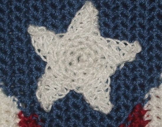 CrochetKim Free Crochet Pattern | Star Embellishment Applique @crochetkim