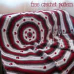 Free Crochet Pattern: Circle of Love Afghan