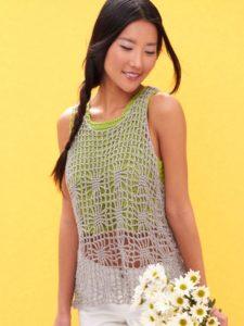 Free Crochet Pattern: Light Layers Tank