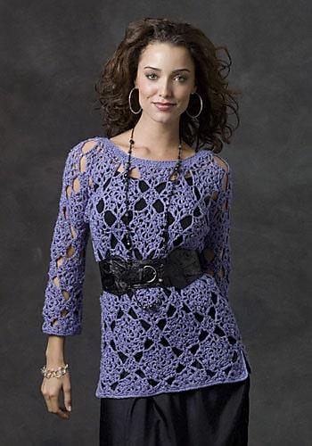 Free Crochet Pattern: Sorrel River Sweater