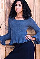 Marlena Ribbed Sweater by Josi Hannon Madera