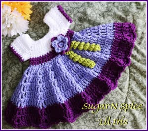 Free Crochet Pattern: Sugar N Spice Dress