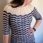 Free Crochet Pattern: Chevron Stripes Sweater