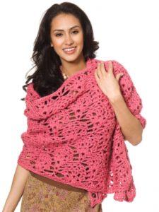 Free Crochet Pattern: Fancy Shells Wrap