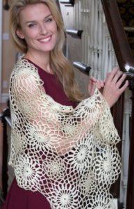 Free Crochet Pattern: Galactic Shawl