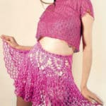 Free Crochet Pattern: Pink Skirt