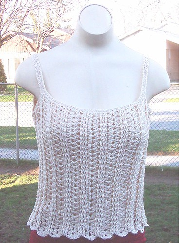 Free Crochet Pattern: Sweetie Pie Cami