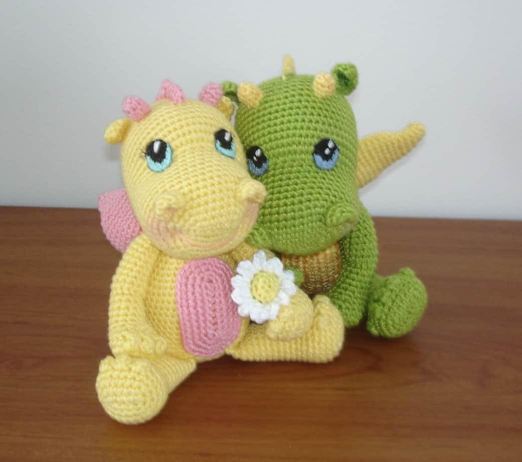 Baby Dragon Free Crochet Pattern Crochetkim