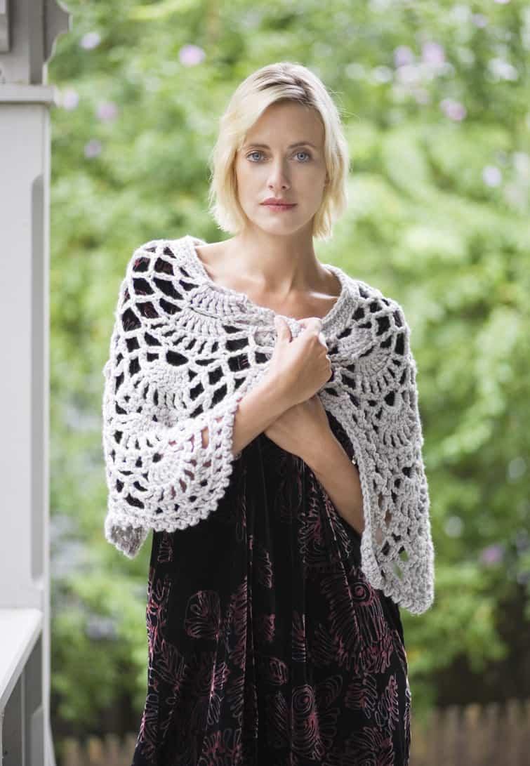Evening Allure Cape Free Crochet Pattern