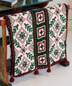 Free Crochet Pattern: Austrian Sleigh Robe