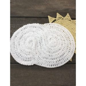 Free Crochet Pattern: Cloudy Dishcloth