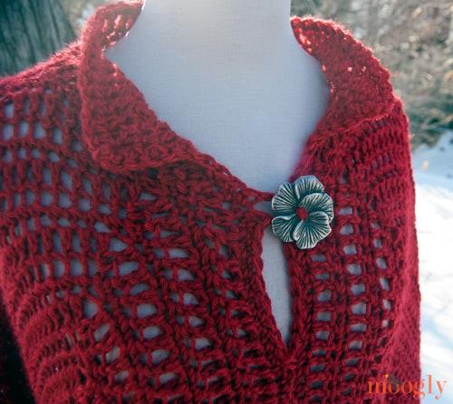 Free Crochet Pattern: Fairy Tale Poncho
