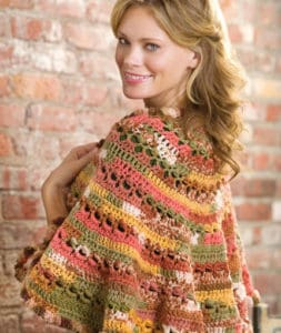 Free Crochet Pattern: Santa Fe Sunset Shawl
