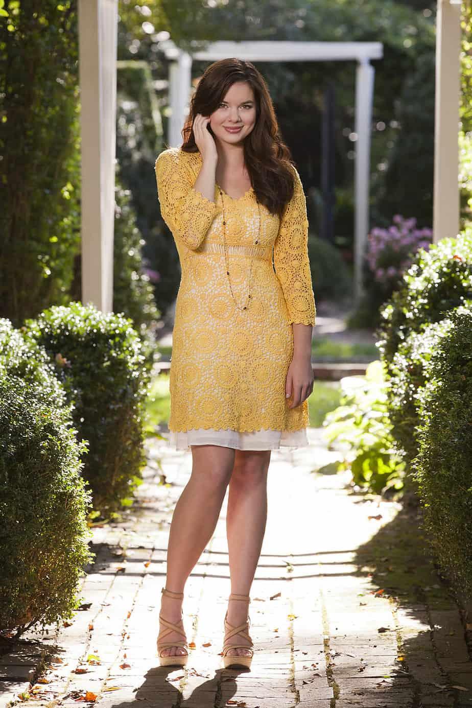Sunflower Dress Free Crochet Pattern Crochetkim
