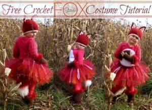 Free Crochet Pattern: Fox Costume