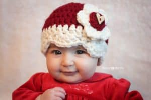 Free Crochet Pattern: Valentine Hat