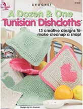 A Dozen and One Tunisian Dishcloths by Kim Guzman