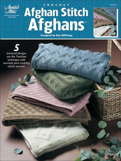 Afghan Stitch Afghans by Kim Guzman