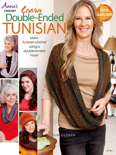 Learn Double-Ended Tunisian Crochet by Kim Guzman