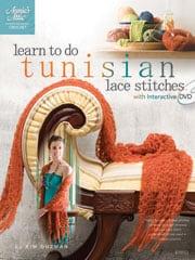 Learn Tunisian Lace Stitches by Kim Guzman