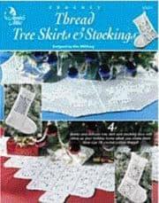 Thread Tree Skirts & Stockings by Kim Guzman