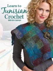 Learn Tunisian Crochet by Kim Guzman