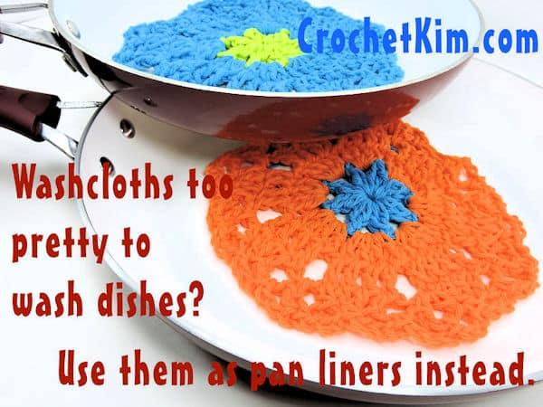 CrochetKim Free Crochet Pattern | Spring Garden Scrubs @crochetkim
