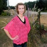 Rosaline Drop Stitch Lace Tunic Free Crochet Pattern