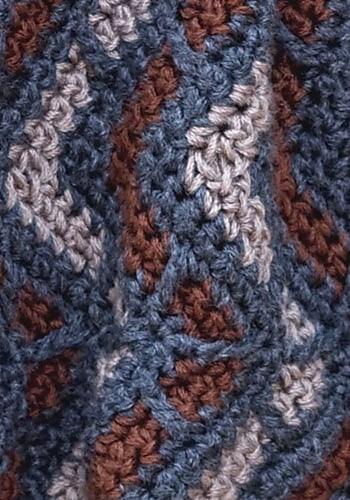 Aspen Neckwarmer   CrochetKim Free Crochet Pattern