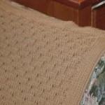 Basket Weave Afghan Free Crochet Pattern