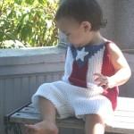 Boricua Baby Shorts Free Crochet Pattern