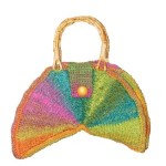 Color Wheel Bag Free Tunisian Crochet Pattern