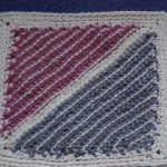 Cro-Hook Dishcloth Free Tunisian Crochet Pattern