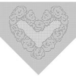 Heart of Flowers Shawl Free Crochet Pattern