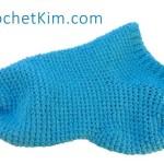 Men's House Ankle Socks Free Crochet Pattern
