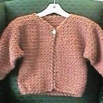 Girls In A Jiffy Jacket Free Crochet Pattern