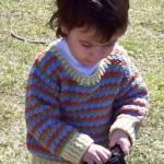 Joseph Child's Pullover Sweater Free Crochet Pattern