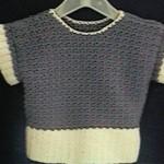 Girl's Lilac Frost Sweater Free Crochet Pattern