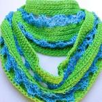 Malibu Infinity Scarf Free Crochet Pattern