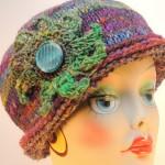 Maura Rolled Brim Hat Free Tunisian Crochet Pattern