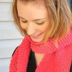 Monroe Scarf Free Tunisian Crochet Pattern