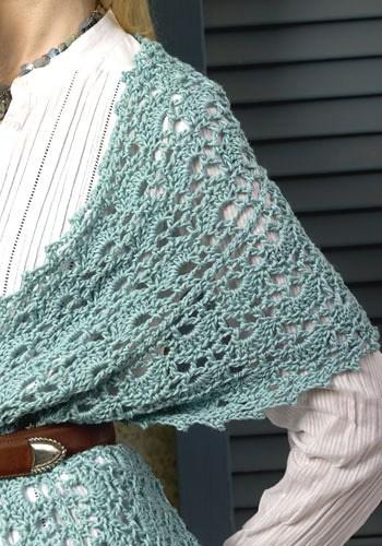Oasis Wrap | CrochetKim Free Crochet Pattern