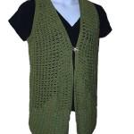 Chain Loop Vest Free Crochet Pattern