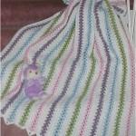 Popcorn Pastels Afghan Free Crochet Pattern