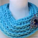 Ridgie Cowl Free Crochet Pattern