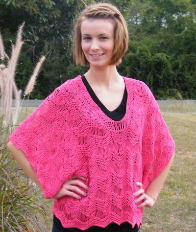 CrochetKim Free Crochet Pattern: Rosaline Kimono Tunic @crochetkim