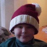 Victorian Santa Hat Free Crochet Pattern